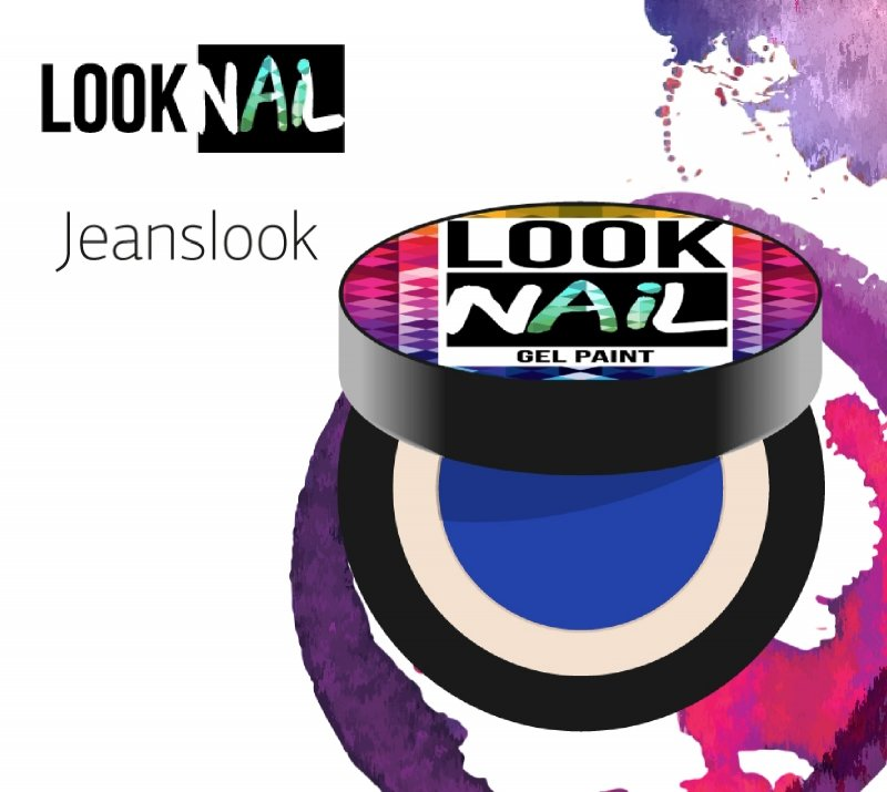 Look Nail, ����-������ - Jeanslook (����-�����, 5 ml)