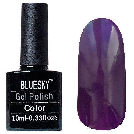 Bluesky Шеллак, цвет Z026 10mlBluesky 10 мл<br>Гель-лак фиолетовый, без блесток и перламутра, плотный.<br>