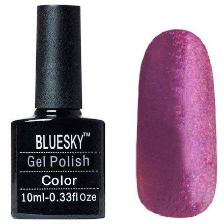 Bluesky, Шеллак цвет №063Bluesky 10 мл<br>Гель-лак сиреневый с блестками, плотный.<br>