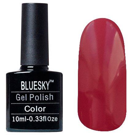 Bluesky, Шеллак цвет Z030 10mlBluesky 10 мл<br>Гель-лак китайская слива, без блесток и перламутра, плотный.<br>