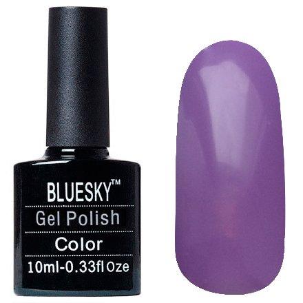 Bluesky, Шеллак цвет Z053 10mlBluesky 10 мл<br>Гель-лак сиреневый, без блесток и перламутра, плотный.<br>
