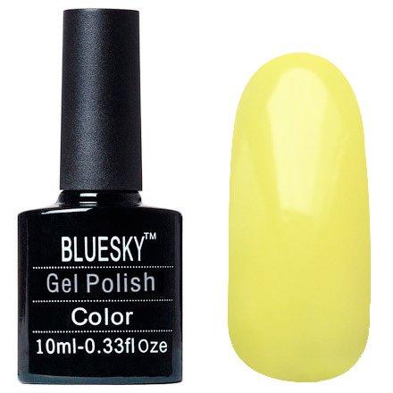 Bluesky Шеллак, цвет Z064 10mlBluesky 10 мл<br>Гель-лак желтый, без блесток и перламутра, плотный.<br>