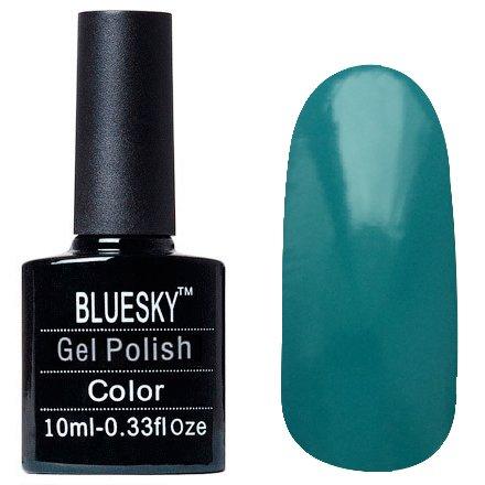 Bluesky, Шеллак цвет Z070 10mlBluesky 10 мл<br>Гель-лак тёмный бирюзовый, без блесток и перламутра, плотный.<br>