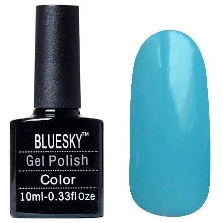 Bluesky, Шеллак цвет Z075 10mlBluesky 10 мл<br>Гель-лак небесно голубой, без блесток и перламутра, плотный.<br>