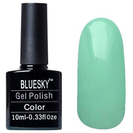 Bluesky Шеллак, цвет Z085 10mlBluesky 10 мл<br>Гель-лак мятный, без блесток и перламутра, плотный.<br>