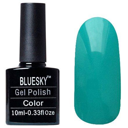 Bluesky Шеллак, цвет Z095 10mlBluesky 10 мл<br>Гель-лак персидский зеленый, без блесток и перламутра, плотный.<br>