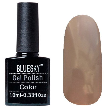 Bluesky Шеллак, цвет Z166 10mlBluesky 10 мл<br>Гель-лак молочный-шоколад, без блесток и перламутра, плотный.<br>