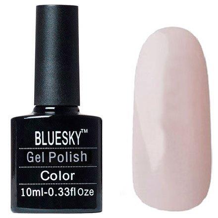 Bluesky Шеллак, цвет №114Bluesky 10 мл<br>Гель-лак очень светло-розово-бежевый, плотный.<br>