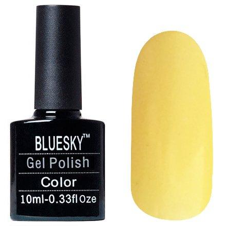 Bluesky Шеллак, цвет Z241 10mlBluesky 10 мл<br>Гель-лак лимонный кекс, с едва заметным шиммером, плотный<br>
