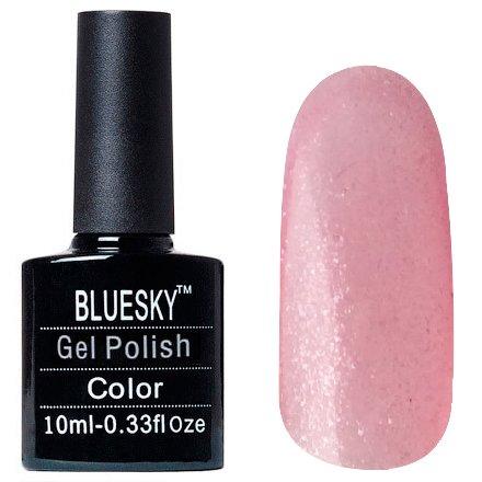 Bluesky, Шеллак цвет Z267 10mlBluesky 10 мл<br>Гель-лак светло-розовый, с блестками, полупрозрачный<br>