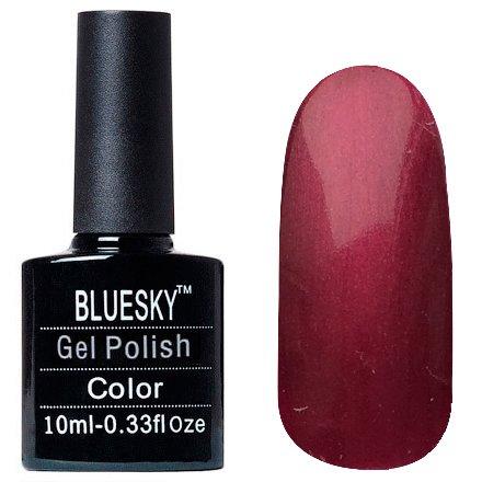 Bluesky, Шеллак цвет Z286 10mlBluesky 10 мл<br>Гель-лак вишня с перламутром, плотный<br>