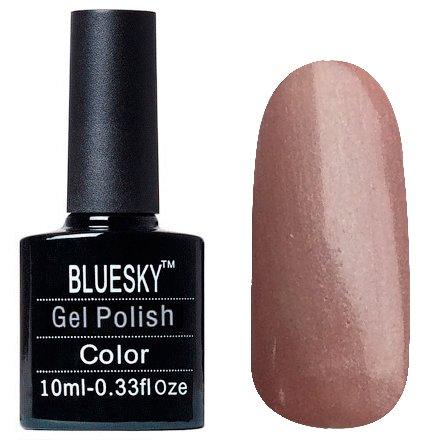 Bluesky Шеллак, цвет Z321 10mlBluesky 10 мл<br>Гель-лак темно-розовый жемчуг, перламутр, плотный<br>