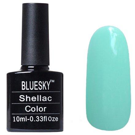 Bluesky Шеллак, цвет №118Bluesky 10 мл<br>Гель-лак светло-мятный, плотный.<br>