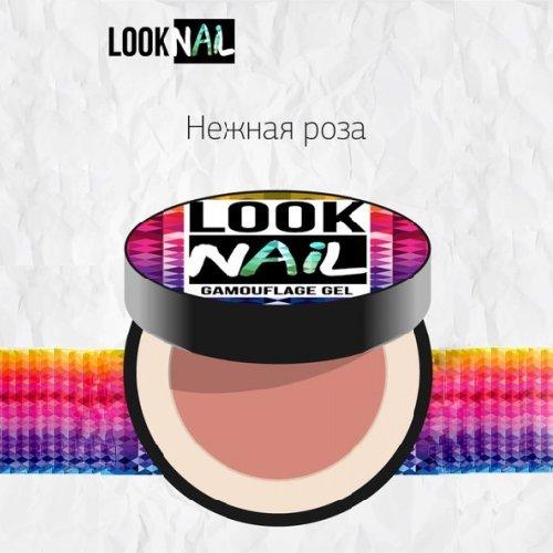 Look Nail, Камуфлирующий гель для моделирования - Нежная роза (15 ml.)Гели Look Nail<br>Камуфлирующий гель для моделирования - Нежная роза<br>