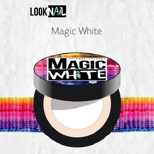Look Nail, Гель для дизайна - Magic White (5 ml.)Гели Look Nail<br>Гель для дизайна - Белый<br>