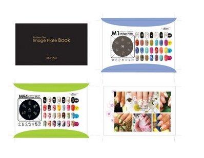 Konad, Image plate book - Каталог печатных формДиски для стемпинга Konad<br>Konad Image plate book- каталог, который содержит в себе все рисунки дисков Konad.<br>