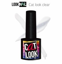 Look Nail, Cat Look Clear - Кошачий глаз прозрачный (10 ml.)