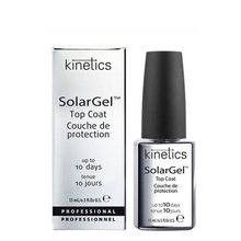 Kinetics, SolarGel Top Coat - Верхнее покрытие для лака (15 мл.)