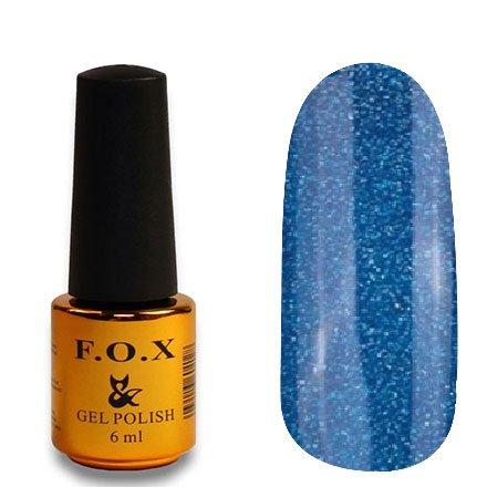 F.O.X, Гель-лак - Pigment №121 (6 ml.)F.O.X<br>Гель-лак синий голографик, плотный<br>