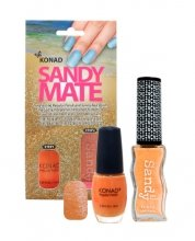 Konad, Песочный лак Sandy Mate Orange