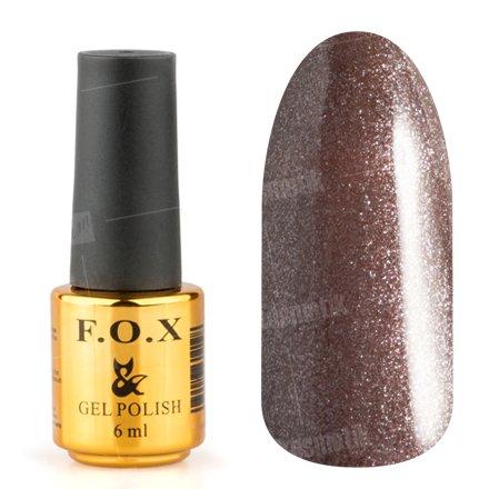 F.O.X, Гель-лак - Pigment №249 (6 ml.)F.O.X<br>Гель-лак кофейно-бежевый, с микроблеском, плотный<br>