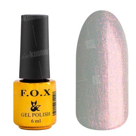 F.O.X, Гель-лак - French №714 (6 ml.)F.O.X<br>Гель-лак жемчужный, с розовым микроблеском, полупрозрачный<br>