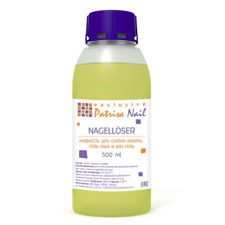Patrisa Nail, Жидкость для снятия гель-лака, био-геля, акрила, 500млPatrisa Nail <br>Жидкость для снятия гель-лака, био-геля, акрила, 500мл<br>