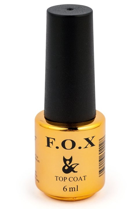F.O.X, Top Gold Pearl - Магнитный закрепитель для гель-лака (6 ml.)F.O.X<br>Магнитный закрепитель для гель-лака с эффектом Кошачий глаз - золото<br>