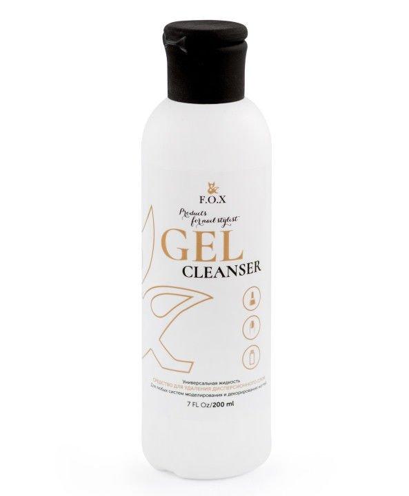 F.O.X, Cleanser - Жидкость для снятия липкого слоя (200 ml.)F.O.X<br>Жидкость для снятия липкого слоя<br>