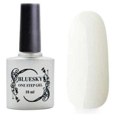 Bluesky One Step Gel, цвет № 007Однофазный Bluesky<br>Однофазный гель-лак, ультра белый, без блесток и перламутра, плотный.<br>
