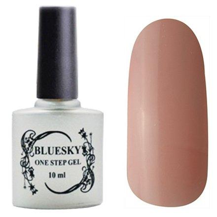 Bluesky One Step Gel, цвет № 008Однофазный Bluesky<br>Однофазный гель-лак, коричнево-розовый, без блесток и перламутра, плотный.<br>