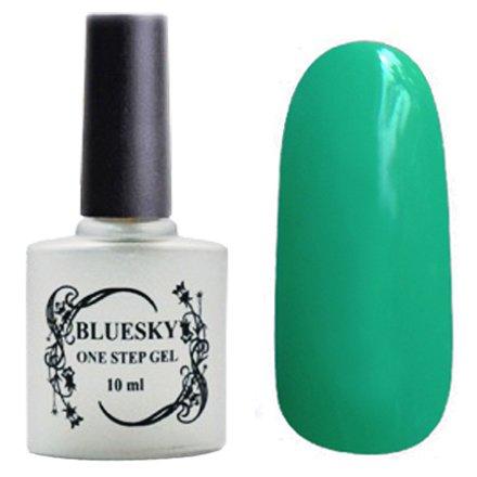 Bluesky, One Step Gel цвет № 012Однофазный Bluesky<br>Однофазный гель-лак,бирюзовый, без блесток и перламутра, плотный.<br>
