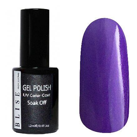 BLISE, Гель-лак - Фиолетовый с перламутром №036 (12 ml.)BLISE<br>Гель-лак фиолетовый с перламутром, плотный<br>