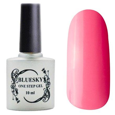 Bluesky One Step Gel, цвет № 013Однофазный Bluesky<br>Однофазный гель-лак,клубничный розовый, без блесток и перламутра, плотный.<br>