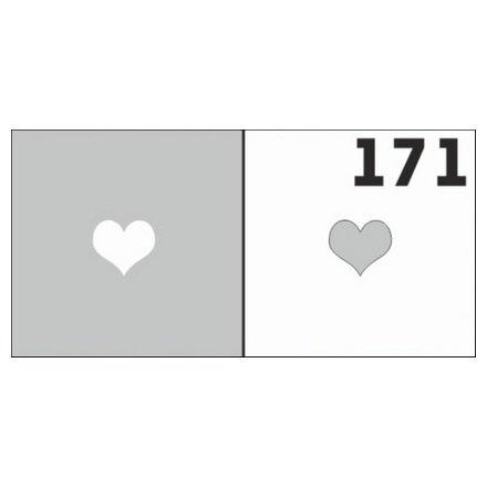 AIRnails, Трафарет №171Трафареты<br>Набор многоразовых клеевых трафаретов для аэрографии на ногтях, 6шт/1уп<br>