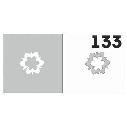 AIRnails, Трафарет №133Трафареты<br>Набор многоразовых клеевых трафаретов для аэрографии на ногтях, 6шт/1уп<br>