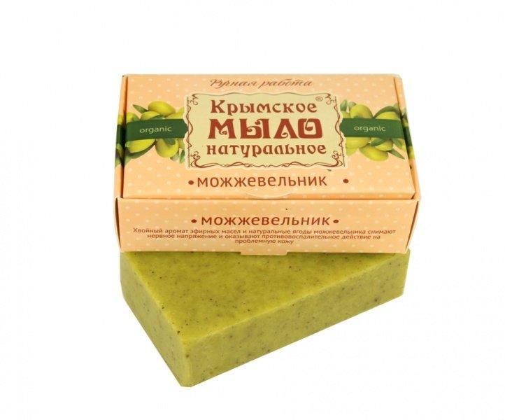 Дом Природы, Мыло натуральное (Можжевельник)Органическое мыло<br>Мыло, обогащенное облепиховым маслом и эфирными маслами можжевельника.<br>