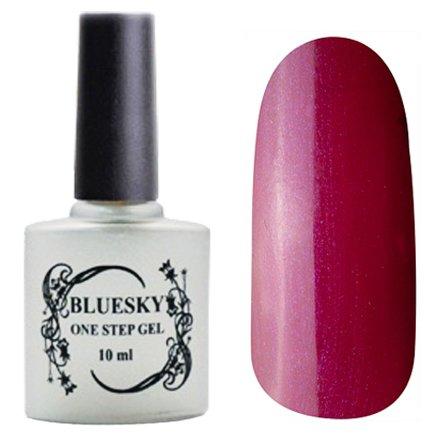 Bluesky One Step Gel, цвет К№ 021Однофазный Bluesky<br>Однофазный гель-лак,сливовый,с микроперламутром, плотный.<br>