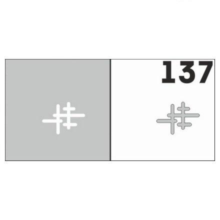 AIRnails, Трафарет №137Трафареты<br>Набор многоразовых клеевых трафаретов для аэрографии на ногтях, 6шт/1уп<br>