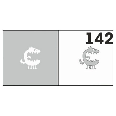 AIRnails, Трафарет №142Трафареты<br>Набор многоразовых клеевых трафаретов для аэрографии на ногтях, 6шт/1уп<br>
