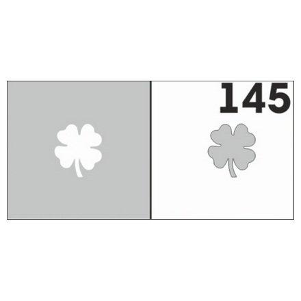 AIRnails, Трафарет №145Трафареты<br>Набор многоразовых клеевых трафаретов для аэрографии на ногтях, 6шт/1уп<br>