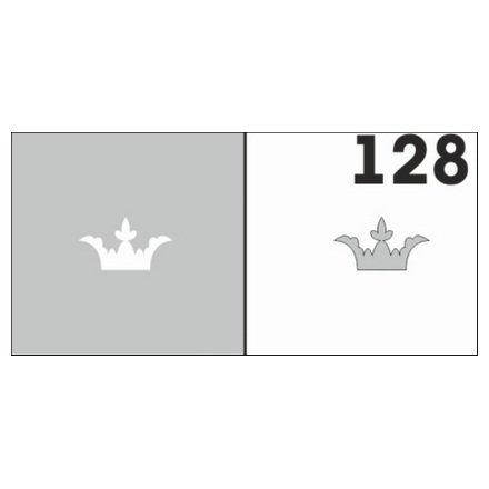 AIRnails, Трафарет №128Трафареты<br>Набор многоразовых клеевых трафаретов для аэрографии на ногтях, 6шт/1уп<br>