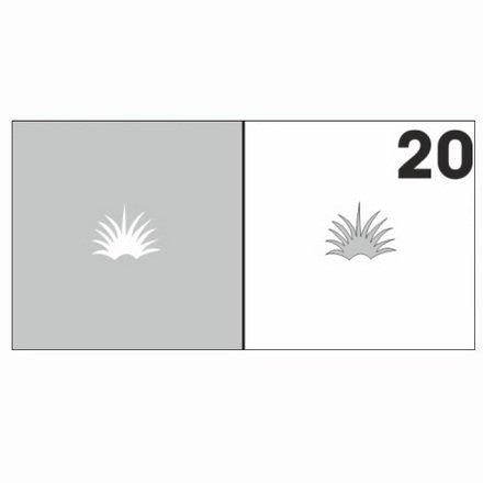 AIRnails, Трафарет №20Трафареты<br>Набор многоразовых клеевых трафаретов для аэрографии на ногтях, 6шт/1уп<br>