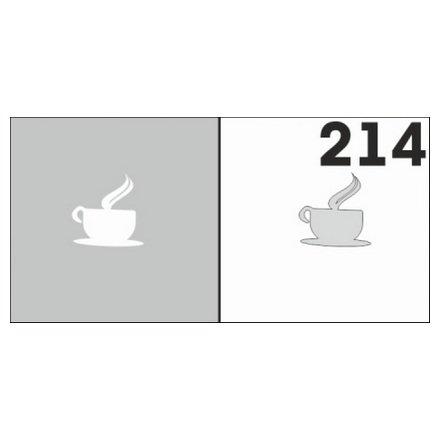 AIRnails, Трафарет №214Трафареты<br>Набор многоразовых клеевых трафаретов для аэрографии на ногтях, 6шт/1уп<br>