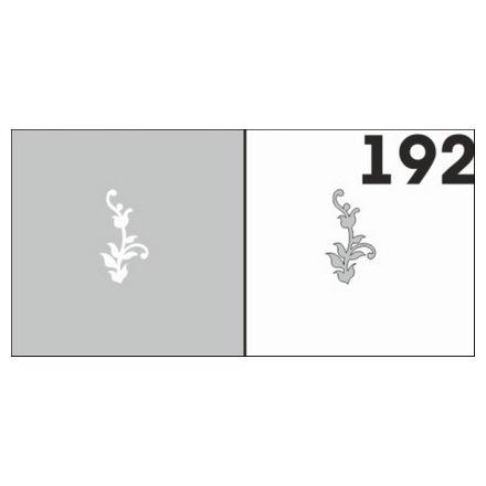 AIRnails, Трафарет №192Трафареты<br>Набор многоразовых клеевых трафаретов для аэрографии на ногтях, 6шт/1уп<br>