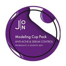 J:ON, Anti-Acne and Sebum Control Modeling Pack - Альгинатная маска против акне и контроля жирности кожи лица (18 г.)