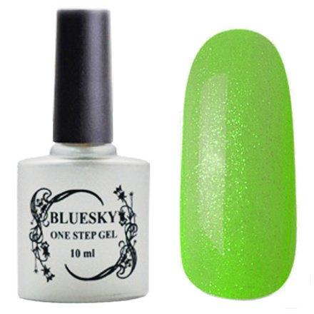 Bluesky One Step Gel, цвет К№ 027Однофазный Bluesky<br>Однофазный гель-лак,дюшес с блестками, полупрозрачный.<br>