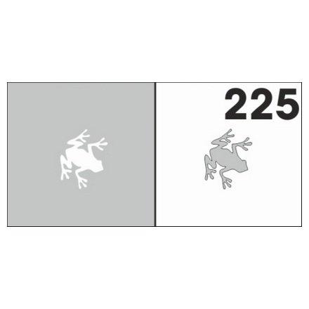 AIRnails, Трафарет №225Трафареты<br>Набор многоразовых клеевых трафаретов для аэрографии на ногтях, 6шт/1уп<br>