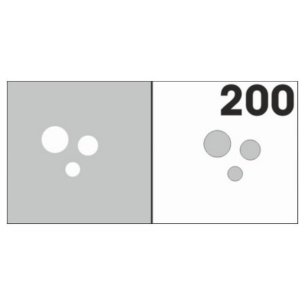 AIRnails, Трафарет №200Трафареты<br>Набор многоразовых клеевых трафаретов для аэрографии на ногтях, 6шт/1уп<br>