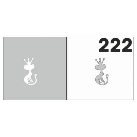 AIRnails, Трафарет №222Трафареты<br>Набор многоразовых клеевых трафаретов для аэрографии на ногтях, 6шт/1уп<br>